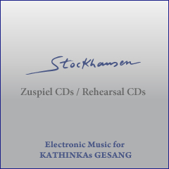 Electronic Music for KATHINKAs GESANG