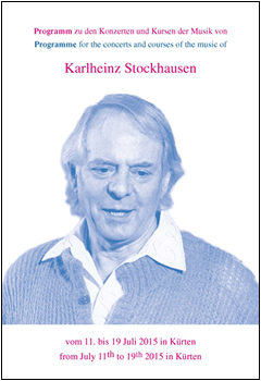 Stockhausen Courses Kuerten 2015