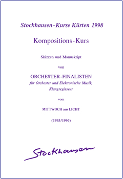 Stockhausen Courses Kuerten 1998