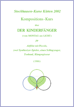 Stockhausen Courses Kuerten 2002