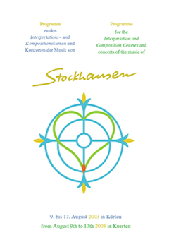 Stockhausen Courses Kuerten 2003