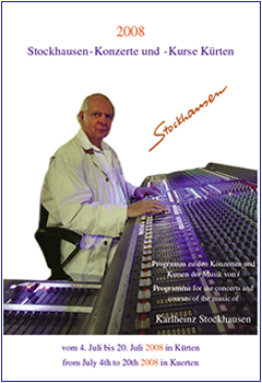 Stockhausen Courses Kuerten 2008