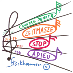 Stockhausen Edition no. 4
