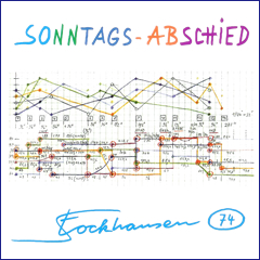 Stockhausen Edition no. 74