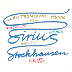 Stockhausen Edition no. 76