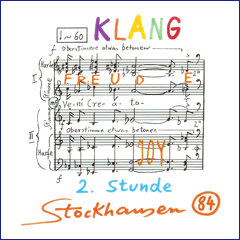 Stockhausen Edition no. 84
